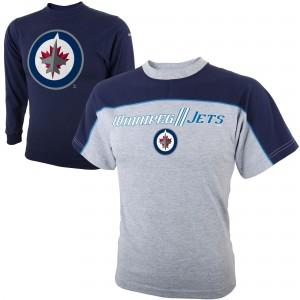 Футболка ДЕТСКАЯ Комбо 2в1 Reebok NHL Winnipeg Jets  В НАЛИЧИИ в Ярославле