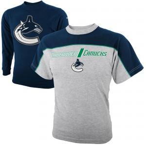 Футболка ДЕТСКАЯ Комбо 2в1 Reebok NHL Vancouver Canucks  В НАЛИЧИИ в Ярославле