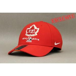Кепка Nike Team Canada 2015 World Juniors Hockey 100th Anniversary В НАЛИЧИИ в Ярославле
