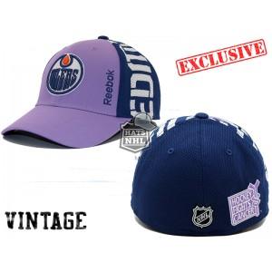 Кепка Reebok NHL Edmonton Oilers Hockey Fights Cancer  В НАЛИЧИИ в Ярославле