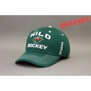 Кепка  Reebok NHL Minnesota Wild Locker Room  В НАЛИЧИИ в Ярославле