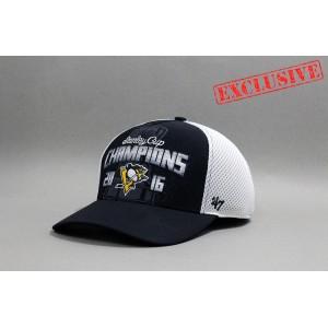 Кепка 47 Brand NHL Pittsburgh Penguins Stanley Cup Champions2016  В НАЛИЧИИ в Ярославле
