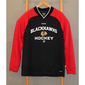 Футболка Chicago Blackhawks NHL Reebok PLAY DRY В НАЛИЧИИ в Ярославле
