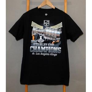 Футболка  Los Angeles Kings Majestic NHL Stanley Cup Champions 2014   В НАЛИЧИИ в Ярославле