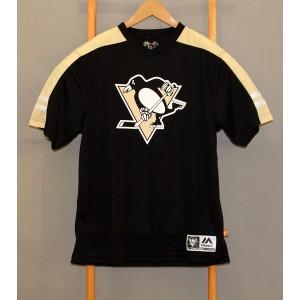 Футболка  Pittsburgh Penguins NHL Majestic  В НАЛИЧИИ в Ярославле
