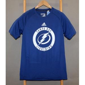 Футболка NHL Tampa Bay Lightning Adidas Climalite  В НАЛИЧИИ в Ярославле